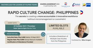 thumbnails MASTERCLASS: RAPID CULTURE CHANGE - PHILIPPINES