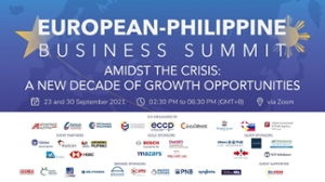 thumbnails EUROPEAN-PHILIPPINE BUSINESS SUMMIT | 23 and 30 SEPTEMBER 2021
