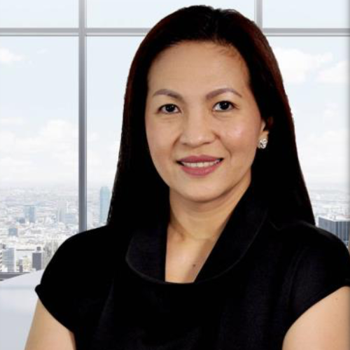 Charmaine C. Abueva (Director for Supply Chain Management of Pascual Laboratories,  Incorporated)